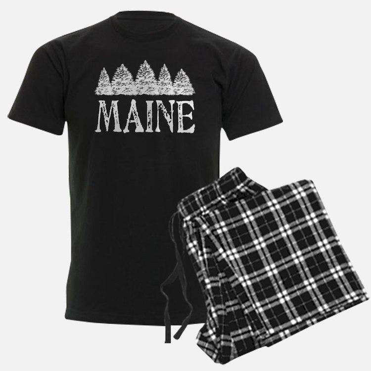 MaineSnowTrees Pajamas