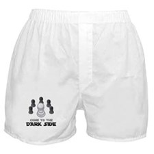 Chess - Come To The Dark Side Boxer Shorts