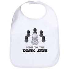 Chess - Come To The Dark Side Bib