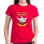 Beer Pong God Women's Dark T-Shirt
