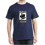 CHESS - RATED KING Dark T-Shirt
