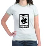 CHESS - RATED KING Jr. Ringer T-Shirt