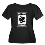 CHESS - RATED KING Women's Plus Size Scoop Neck Da