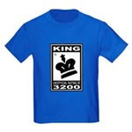 CHESS - RATED KING Kids Dark T-Shirt