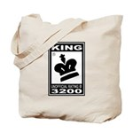 CHESS - RATED KING Tote Bag