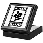 CHESS - RATED KING Keepsake Box