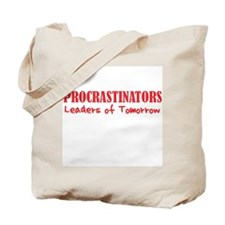 Procrastinators Tote Bag