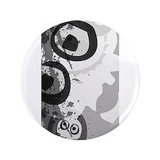 """Urban Grunge Skulls 3.5"""" Button"""