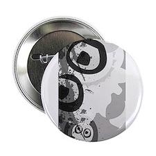 """Urban Grunge Skulls 2.25"""" Button (100 pack)"""
