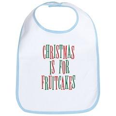 Christmas Fruitcake Bib