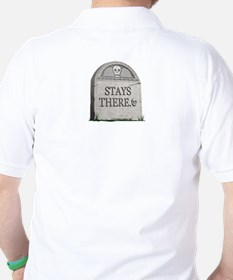 What Happens in the Lighting Shop (Tombstone) T-Shirt