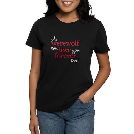 Werewolf Love Twilight Women's Dark T-Shirt