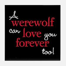 Werewolf Love Twilight Tile Coaster