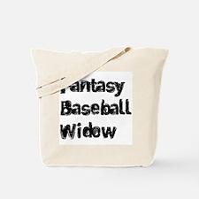 Fantasy Baseball Widow Tote Bag