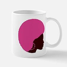 Pink Afro Mug