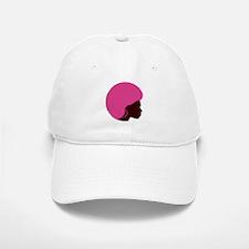 Pink Afro Baseball Baseball Cap