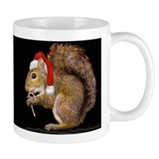 Holiday Squirrel Mug
