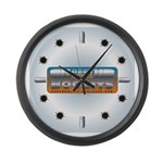 Cast Boolits Large Wall Clock