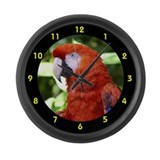 Scarlet macaw Giant Clocks
