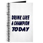 Drink Like a Champion Journal