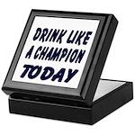 Drink Like a Champion Keepsake Box