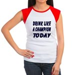 Drink Like a Champion Women's Cap Sleeve T-Shirt