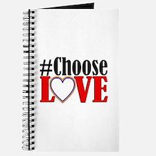 Choose Love Heart Journal