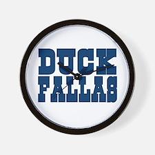 Duck Fallas Wall Clock
