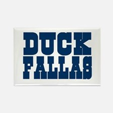 Duck Fallas Rectangle Magnet