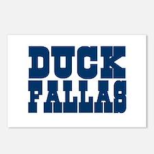 Duck Fallas Postcards (Package of 8)