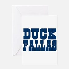 Duck Fallas Greeting Card