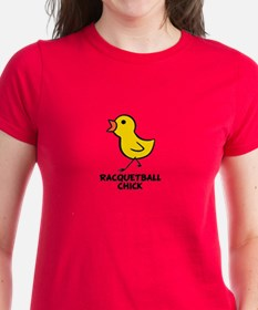 Racquetball Chick Tee