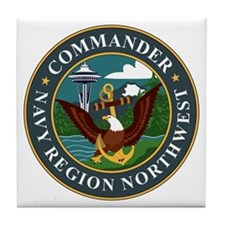 Navy Region Northwest Tile Coaster