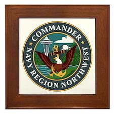 Navy Region Northwest Framed Tile