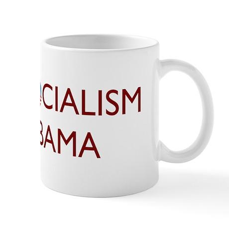 Anti Socialism Nobama Mug