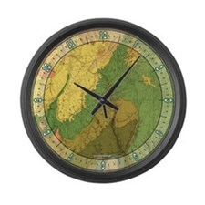 Dutton Geology Large Wall Clock