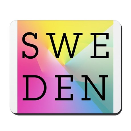 Sweden Mousepad