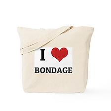 I Love Bondage Tote Bag