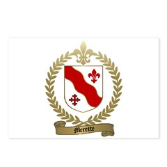 MERETTE Family Crest Postcards (Package of 8)