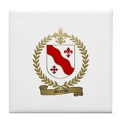 MERETTE Family Crest Tile Coaster