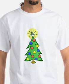 ILY Christmas Tree Shirt