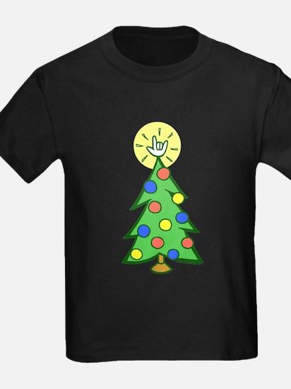 ILY Christmas Tree T