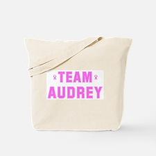 Team AUDREY Tote Bag