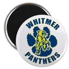Unique Panthers football Magnet