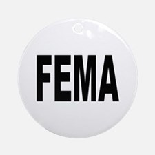 FEMA Keepsake (Round)