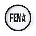 FEMA Wall Clock