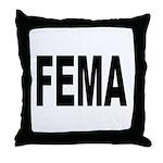 FEMA Throw Pillow