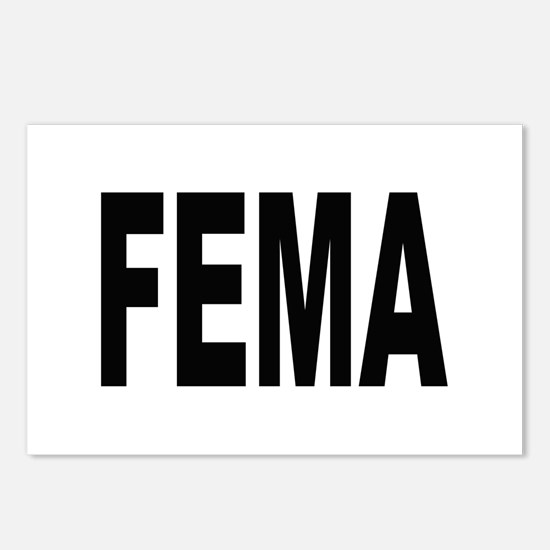 FEMA Postcards (Package of 8)