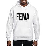 FEMA (Front) Hooded Sweatshirt