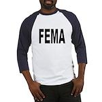 FEMA (Front) Baseball Jersey